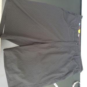 Volcom board shorts black grey mens 36